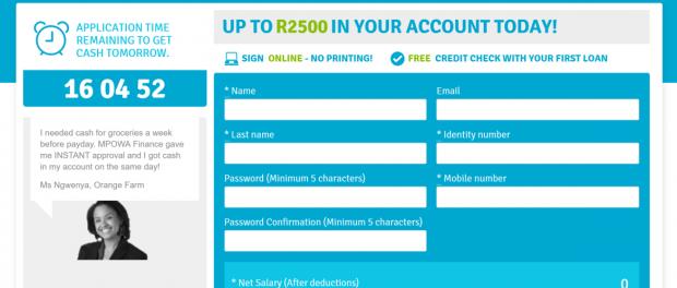 Mpowa Finance Loans